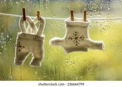 Christmas laundry