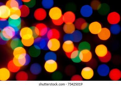 Christmas led color lights