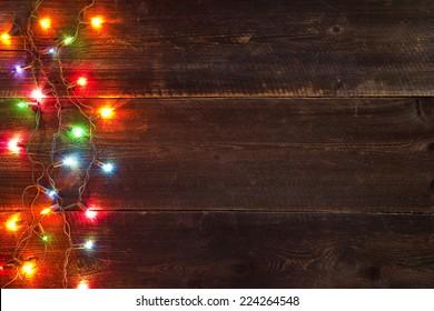christmas light background