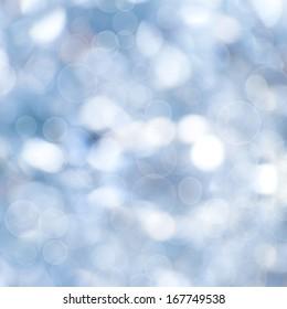 Christmas Light from Bokeh Background