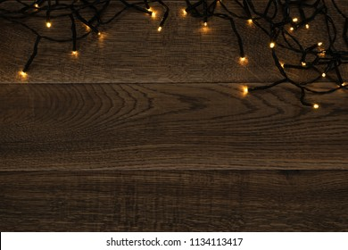 online store 78ea4 a2534 Wooden Background with Fairy Lights Images, Stock Photos ...