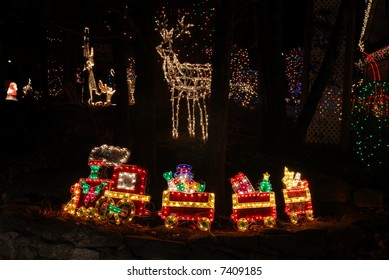 christmas light train ii