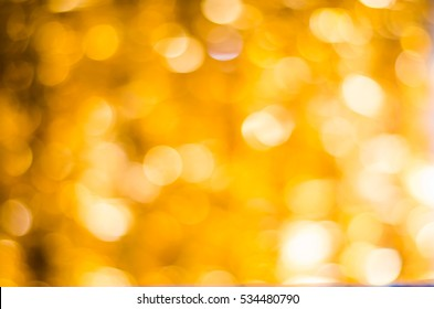 Christmas lights blurred background