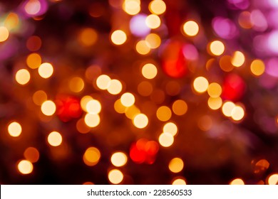 Christmas Lights Bokeh