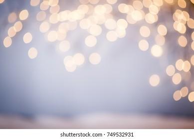 christmas lights bokeh, abstract bokeh lights