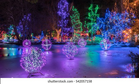 Vancouver Christmas Lights.Vancouver Christmas Images Stock Photos Vectors