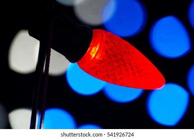 Christmas Lights of the Holiday Season.