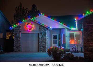 75 Most Popular Christmas Lights On Houses Images