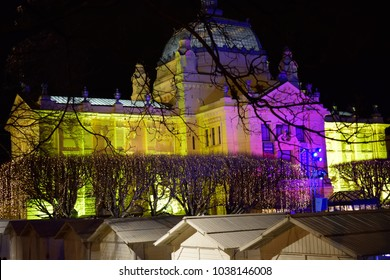 Christmas lights in Zagreb, Croatia