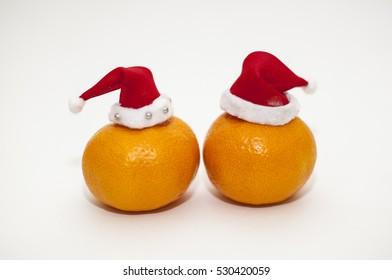 Christmas mandarins