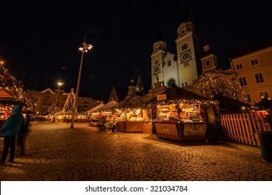 Christmas Market, Bressanone, Brixen, Bolzano, Trentino Alto Adige, Italy