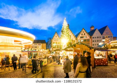 Christmas Market, Frankfurt am Main, Germany