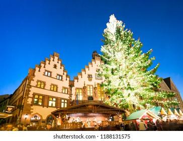 Christmas Market, Frankfurt am Main, Germany