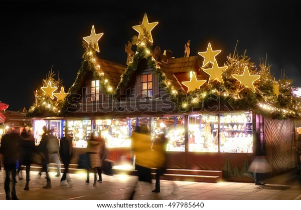 Christmas market in germany, Stuttgart