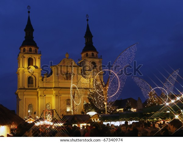 Christmas market in Ludwigsburg, Germany