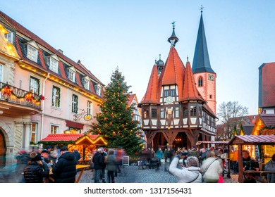 Christmas Market in Michelstadt, Germany