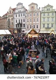 Christmas market, Prague, Czech Republic, 2.12.2017