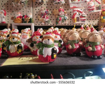 Christmas market in Town Cave, Valkenburg, Netherlands, Europe