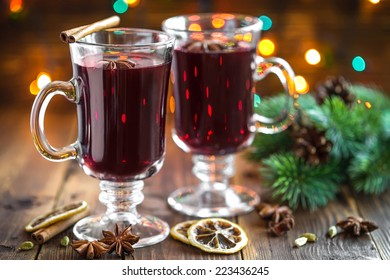 Christmas mulled wine