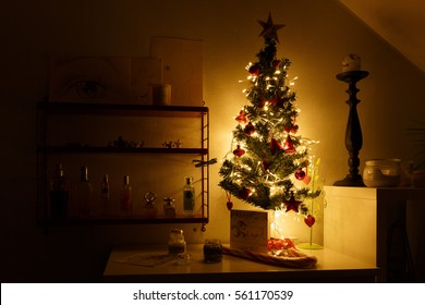 Christmas in my daughters room