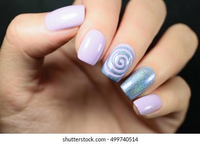 Snowflake Nails Images, Stock Photos \u0026 Vectors