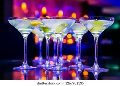 Christmas or New Year Drinks for Gala Dinner or Cocktail Party Event