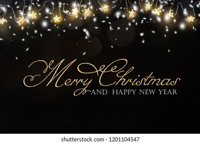 Christmas and New Year holidays background with gift boxes