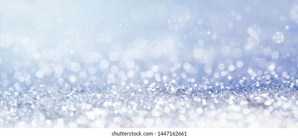 Christmas and New Year holidays glitter bokeh background
