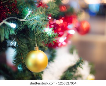 Christmas and new year light background for celebration
