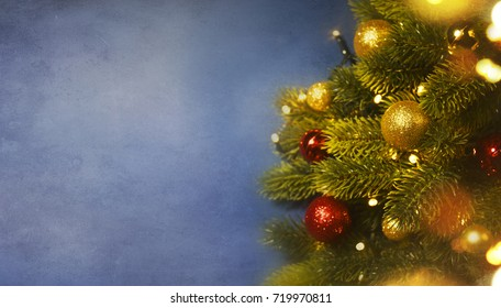 Christmas and New Year s holiday background, Winter season