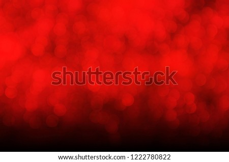christmas and new year theme background abstract red blurred or glitter light background