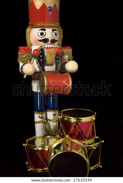 Christmas Drummer.Christmas Nutcracker Drummer Boy Stock Photo Edit Now 17610199