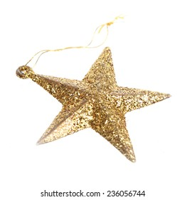 Christmas ornament of an asterisk