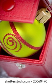 Christmas ornament in a box