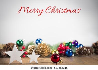 Christmas ornaments, Marry Christmas