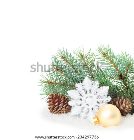 Christmas Ornaments On Christmas Tree Christmas Stock Photo Edit