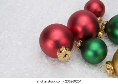 Christmas Ornaments with Snowman