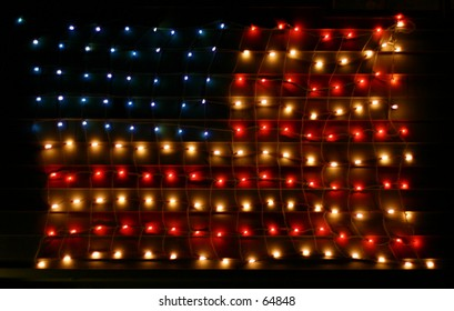 Patriotic Christmas Lights.Patriotic Christmas Images Stock Photos Vectors
