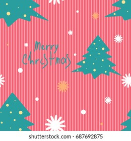 Christmas pattern for wallpaper, wrapping, patterns, greetings, Christmas and New Year cards.