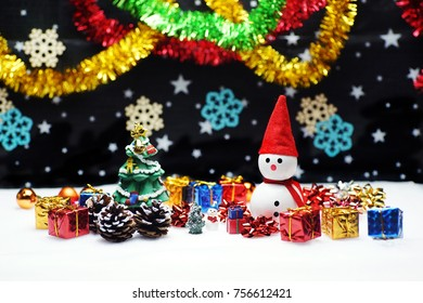 Christmas presents  snowman