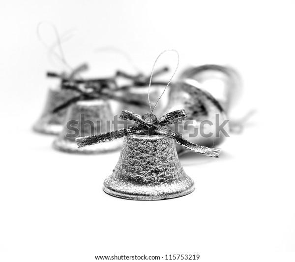 Christmas silvery bells