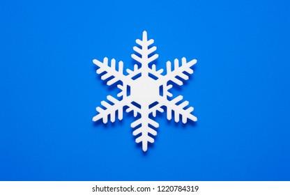 christmas snowflake abstract