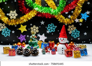 Christmas  snowman Present