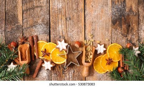 christmas spice decoration