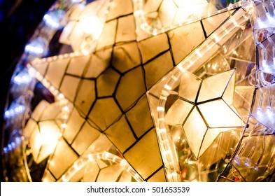 Christmas star lantern/parol