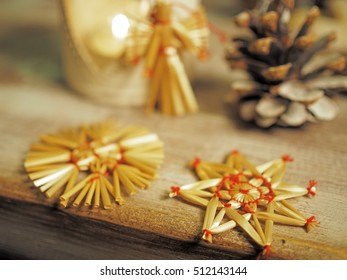 Christmas still life with star