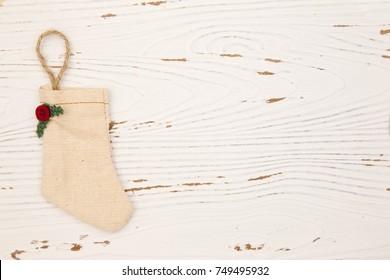 Christmas Stocking Background