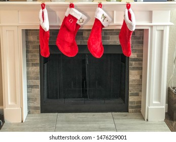 Christmas stocking is an empty sock or sock-shaped bag that is hung on Saint Nicholas Day or Christmas Eve so that Saint Nicholas can fill it with small toys, candy, fruit, coins or other small gifts