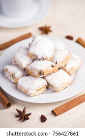 Christmas stollen confectionary