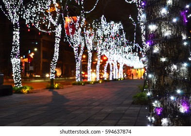 christmas street view
